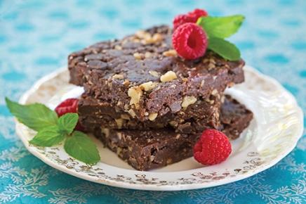 Plant Power Brownies