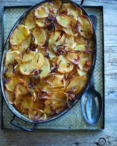 Potato Onion Gratin