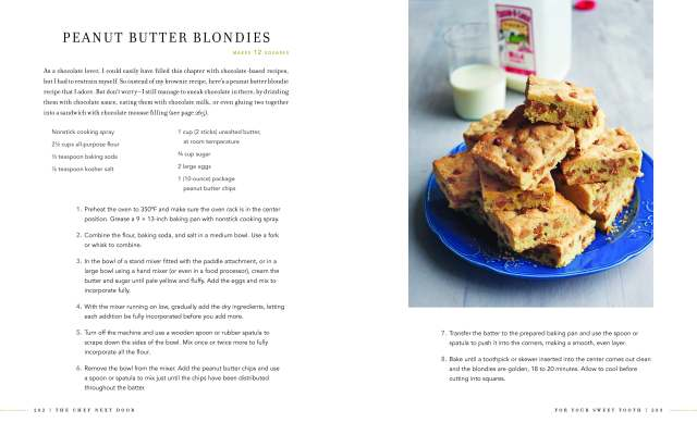 peanut butter blondies Spread