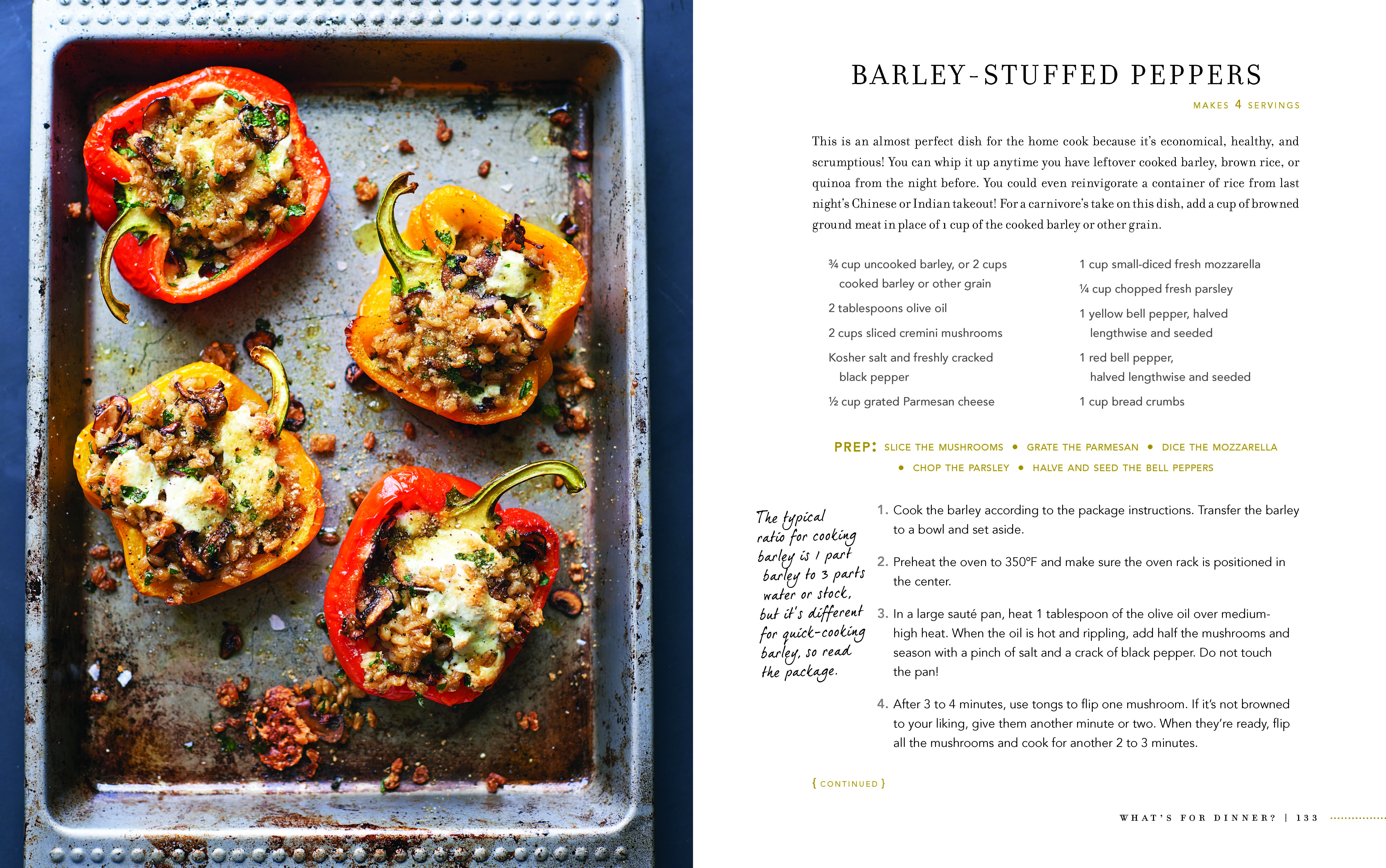 Stuffed Pepper and Grilled Steak spread_Page_1 ...  sc 1 st  The Secret Ingredient & Introducing The Chef Next Door by Amanda Freitag | The Secret Ingredient