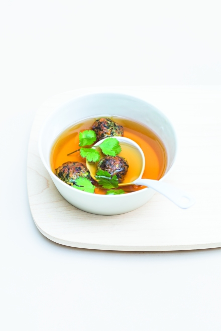 cilantro-meatballs
