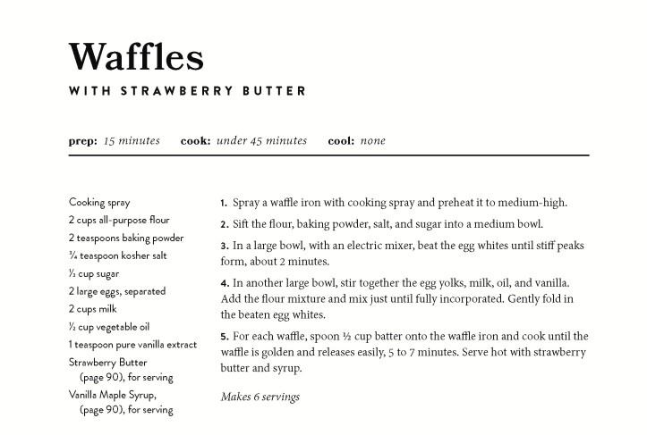 Blog Waffle Recipe